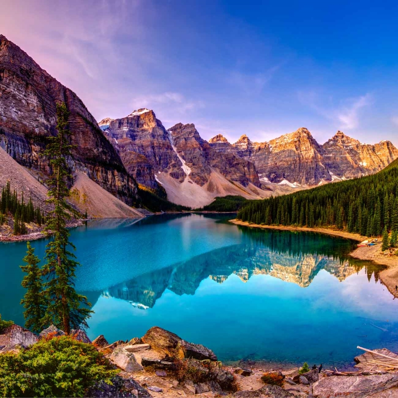Iconic National Parks of the American and Canadian Rockies Summer 2019
