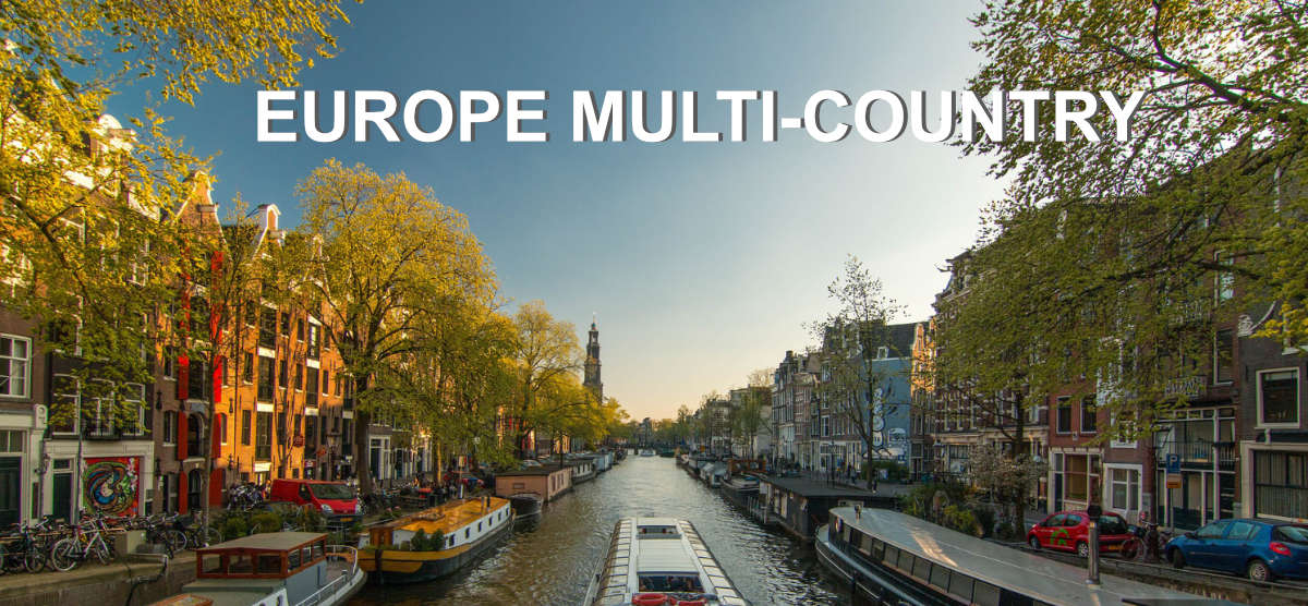 7 to 10 day Multi Country Coach Tours of Europe